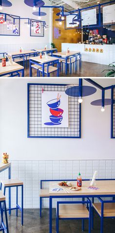 Rainville-Sangaré has collaborated with Studio Beau to design the recently launched 'Maneki Comptoir Asiat,' a new Asian restaurant in Montreal, Canada. The designers aimed to create a space that was fun and inviting, while playing with Asian culture and stereotypes.