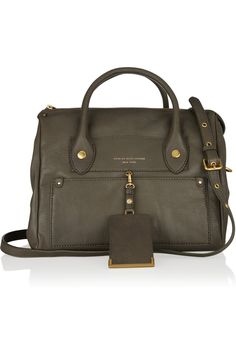 Marc by Marc Jacobs Preppy Leather Pearl tote NET-A-PORTER.COM
