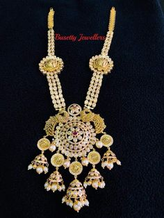 Bridal Jewellery, My Photos, Crochet Necklace, Jewelry Design, Indian, Traditional, Gold, How To Wear, Fashion