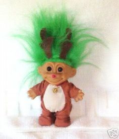 Rudolph the red nosed-troll!