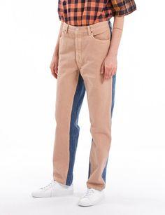 Jeans Pleat Front