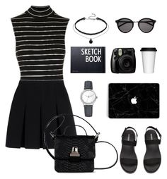 """""""Untitled #97"""" by marlynalexandria ❤ liked on Polyvore featuring Topshop, Yves Saint Laurent, Blancpain, Alexander Wang, MM6 Maison Margiela, Sagaform, Fujifilm and Design Letters"""