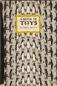 vintage penguin: 'a book of toys' (cover by gwen white, 1946)