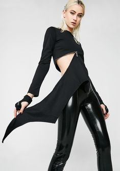f30d411a99f8 Punk Rave Goth Slim Zipper Tee it'z all in the details bb. This