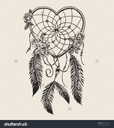 Find Hand Drawn Heart Shaped Dream Catcher stock images in HD and millions of other royalty-free stock photos, illustrations and vectors in the Shutterstock collection. Thousands of new, high-quality pictures added every day. Dream Catcher Vector, Dream Catcher Drawing, Dream Catcher Tattoo Small, Dream Catcher Tattoo Design, Dream Catchers, Atrapasueños Tattoo, Form Tattoo, Shape Tattoo, Trendy Tattoos