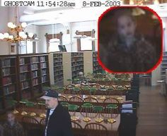 Library Girl Ghost