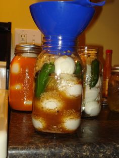 Pickled Eggs as Survival Preps: How to. (Picture Intense) -
