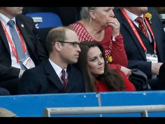 18th March 2017: The Duke and Duchess at Stade de France for the Wales v France Rugby Six Nations game. This was the first Wales match that The Duke has attended since becoming patron of the Welsh Rugby Union.