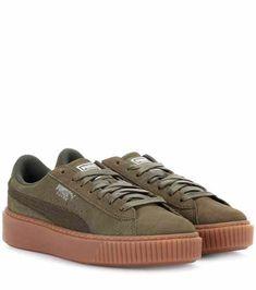af5942beed5e Basket Platform suede sneakers