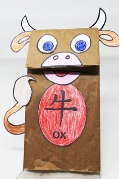 Printable Year of the Ox Projects and Crafts for the Chinese New Year