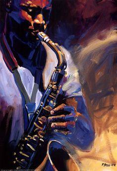 paintings jazz - Cerca con Google