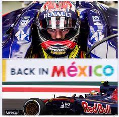 Na 23 jaar weer even F1 race in Mexico op 1 november 2015. En Max is erbij