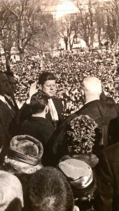 1961. 20 Novembre. JFK inauguration