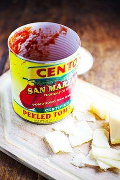 Simple San Marzano Pasta e Fagioli - Pinch of Yum