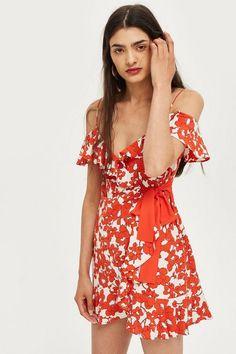 Poppy Ruffle Mini Dress