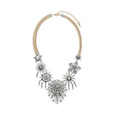 Starburst Statement Necklace | Chloe + Isabel ❤ liked on Polyvore featuring jewelry, necklaces, vintage star jewelry, chloe isabel jewelry, pave necklace, vintage jewelry and star necklace