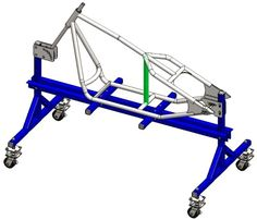 This rigid sportster frame assembly tutorial is a guide to building the frame step by step. Motorcycle Equipment, Bobber Motorcycle, Motorcycle Design, Custom Choppers, Custom Bikes, Moto Jawa, Chopper Frames, Eletric Bike, Chopper Bike
