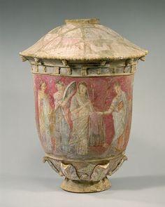 Centuries Vase, 2nd-3rd century B.C  Terracota
