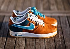 Nike Air Force One BESPOKE part II << I need these in my life...right now! | #nike #bespoke |