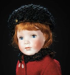 "Rare German Bisque Character ""Pretty Peggy"" Designed by Grace Corry Rockwell 1800/2500"