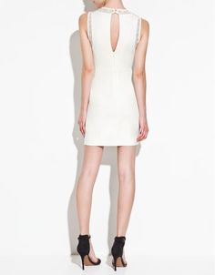 bought this too!! DRESS WITH LACE DETAILS - Dresses - TRF - ZARA United States