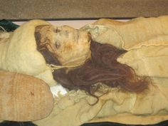 the Beauty of Xiaohe, who is one of the world's most famous mummies.