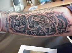 """Résultat de recherche d'images pour """"inner arm bio mech tattoos"""""""