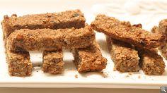 Barre granola aux fruits séchés et aux noix