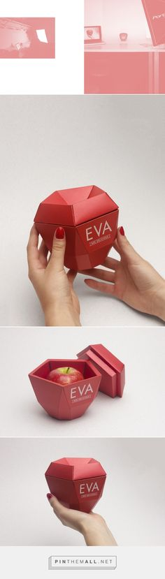 EVA on Behance by Josep Puy curated by Packaging Diva PD.  Packaging creation for a simple object, and it's branding.  Creación del packaging para un objeto banal, y de la marca para el mismo.