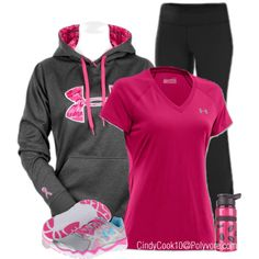 """Exercise"" by cindycook10 on Polyvore"