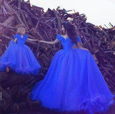 Vestido Mãe e Filha Cinderela Inspires Disney Princess Princesa