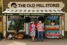 Claire Graham & Tom Keane and their shop, The Old Mill Stores in Connonagh, which is between Leap and Rosscarbery in West Cork, Ireland Claire Graham, Southern Ireland, West Cork, Irish Design, Cork Ireland, Great Places, The Neighbourhood, Cool Designs, Old Things