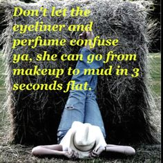 A little bit cowgirl Frases Country, Country Girl Quotes, Country Girls, Country Music, Country Sayings, Country Living, Southern Sayings, Country Style, Girl Sayings
