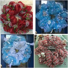 Handmade Wreaths for All Occasions by NursesAreCrafty2 on Etsy