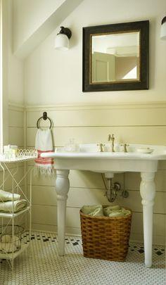 farmhouse decor bathroom   upstairs guest room bathroom in the farmhouse repinned from bed bath ...
