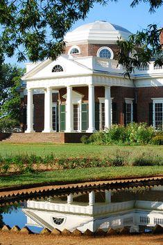 Thomas Jefferson's Monticello, VIRGINIA.