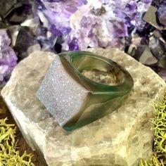 Lush Landscape Rock Candy Ring US 8.5 RCR-029