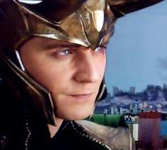 Loki -- I wonder what he's thinking..