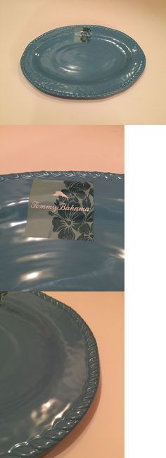 Platters 45503: Tommy Bahama 18 Oval Large Blue Turquoise Melamine Serving Platter Tray New -> BUY IT NOW ONLY: $37.15 on eBay!