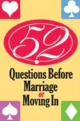 52 Questions Before Marriage card deck