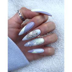 Spring stiletto nails 2016 nail art nails stiletto nails, na Fancy Nails, Bling Nails, Stiletto Nails, Hot Nails, Hair And Nails, Gorgeous Nails, Pretty Nails, Nails 2016, Glitter Nail Art