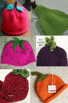 fruit hats