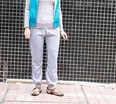 Free Leggings Pattern for Women - Life Sew Savory Pants Pattern Free, Free Pattern, Sewing Patterns Free, Free Sewing, Pattern Sewing, Baby Sewing, Free Leggings, Joggers Womens, Jogger Pants