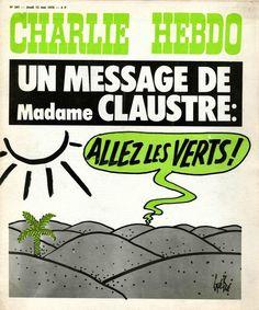 Charlie Hebdo - # 287 - 13 Mai 1976 - Couverture : Gébé