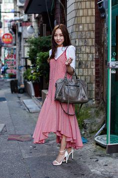 Street Style Kang Eunjin, Busan