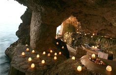 Jeremy and I enjoyed our 2nd wedding anniversary dinner in this cave. Words can't describe how beautiful it is. Make sure you get Glenn as your server.