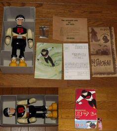 Mint 8 Man Eight Man Tin Toys Wind-Up Rare '97 Billiken Shokai Vintage Japan 473 #BillikenShokai