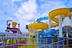 Carnival Glory Gets All-New WaterWorks Aqua Park Cruise Travel, Cruise Vacation, Carnival Cruise Tips, Carnival Glory, Best Cruise, Waterworks, Westerns, Aqua, Adventure