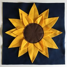 How to Make a Sunflower Pillow