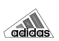 Adidas, new swag, cool, design, funny, way to, see, Adidas, logo.